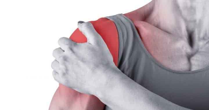 massagem para dor no ombro