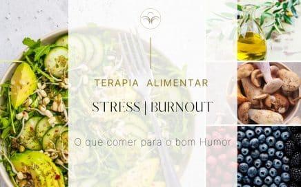 Stress Burnout comer par ao bom humor